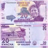 Malawi 2012 20 Kwacha P57 UNC