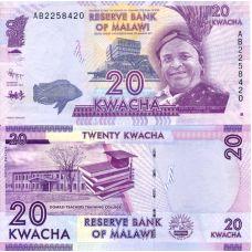 Malawi 2012 20 Kwacha P57a UNC