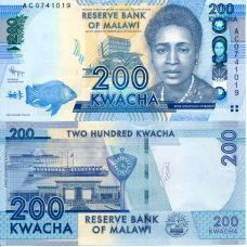 Malawi 2012 200 Kwacha P60 UNC