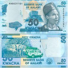Malawi 2012 50 Kwacha P58 UNC