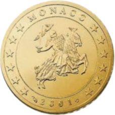 Monaco 2001 10 c UNC