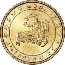 Monaco 2002 10 c UNC