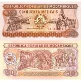 Mosambik 1986 50 Meticais P129a UNC