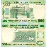 Ruanda 2008 500 Francs P34 UNC