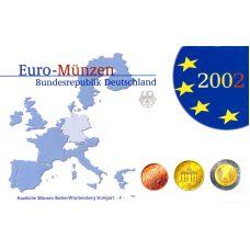 Saksa 2002 Rahasarja F PROOF