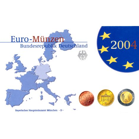 Saksa 2004 Rahasarja D PROOF