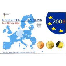 Saksa 2008 Rahasarja F PROOF