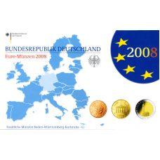 Saksa 2008 Rahasarja G PROOF