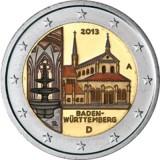 Saksa 2013 2 € Maulbronnin luostari VÄRITETTY