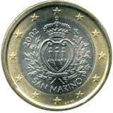 San Marino 2002 1 € UNC