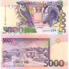 São Tomé ja Príncipe 2004 5 000 Dobras UNC