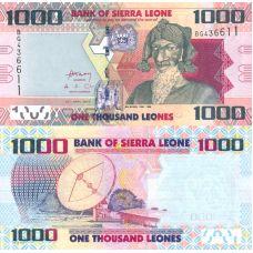 Sierra Leone 2010 1000 Leones P30 UNC