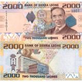 Sierra Leone 2010 2000 Leones UNC