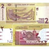 Sudan 2011 2 Pounds P71a UNC