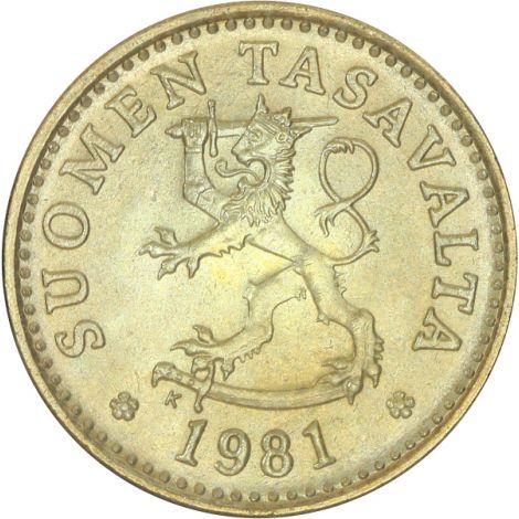 Suomi 1981 10 Penniä