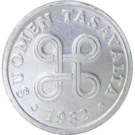 Suomi 1982 5 Penniä UNC