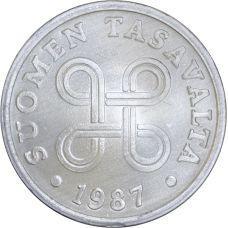 Suomi 1987 5 Penniä UNC