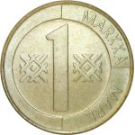 Suomi 1997 1 Markka UNC