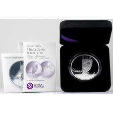 Suomi 2010 10 € Minna Canth HOPEA PROOF