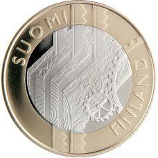 Suomi 2011 5 € Uusimaa maakuntaraha UNC