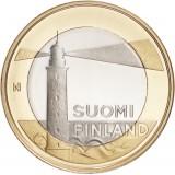 Suomi 2013 5 € Maakuntien rakennukset Ahvenanmaa - Sälskärin majakka UNC
