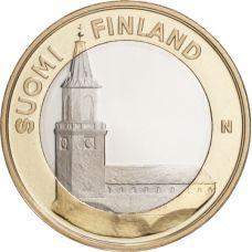 Suomi 2013 5 € Maakuntien rakennukset Varsinais-Suomi - Turun tuomiokirkko UNC