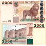 Tansania 2003 2000 Shillings P37a UNC