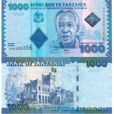 Tansania 2010 1000 Shillings P41 UNC