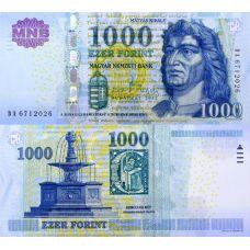 Unkari 2012 1000 Forint P197 UNC