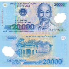 Vietnam 2012 20 000 Dong P120e UNC