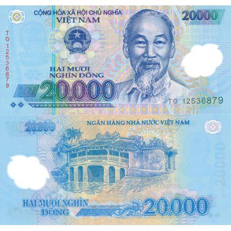Vietnam 2012 20 000 Dong UNC