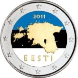 Viro 2011 2 € VÄRITETTY