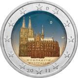 Saksa 2011 2 € Westfalen VÄRITETTY